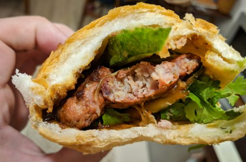 Banh Mi 37 Nguyen Trai Restaurant Review, Ho Chi Minh City, Vietnam: Pork Meatball Sandwich