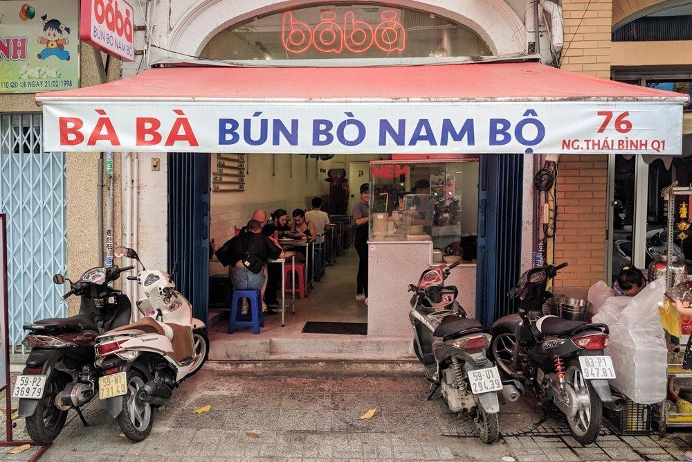 Bun Bo Nam Bo - Ba Ba, Ho Chi Minh, Vietnam