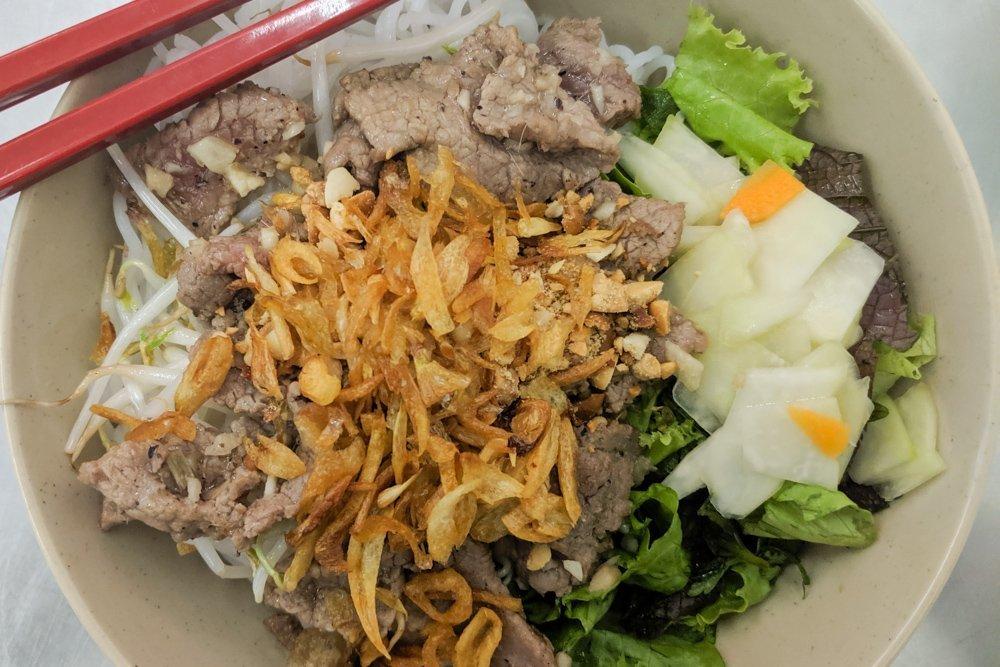 Bun Bo Nam Bo - Ba Ba Restaurant Review, Ho Chi Minh, Vietnam
