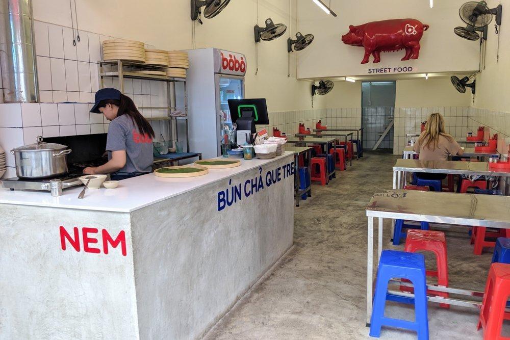 Bun Cha Que Tre - Ba Ba, Ho Chi Minh, Vietnam