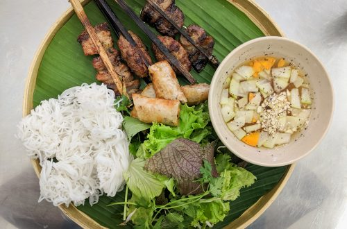 Bun Cha Que Tre - Ba Ba Restaurant Review, Ho Chi Minh, Vietnam