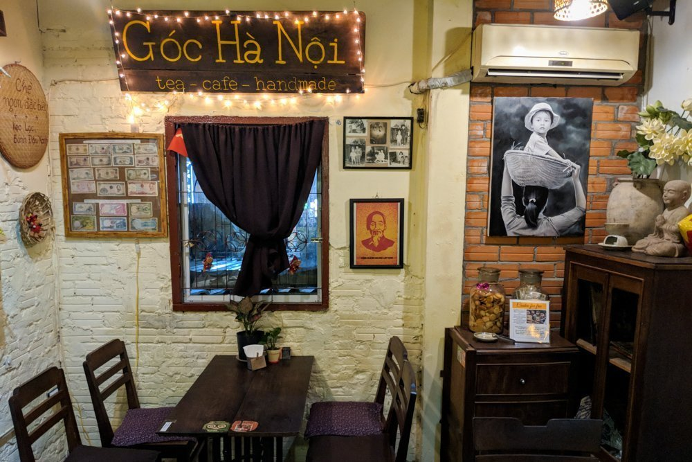 Goc Ha Noi Coffee Shop, Ho Chi Minh City, Vietnam