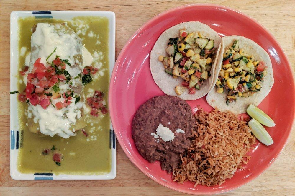 Gringo Tacos Restaurant Review, Ho Chi Minh City, Vietnam: Wet Buritto & Veggie Tacos