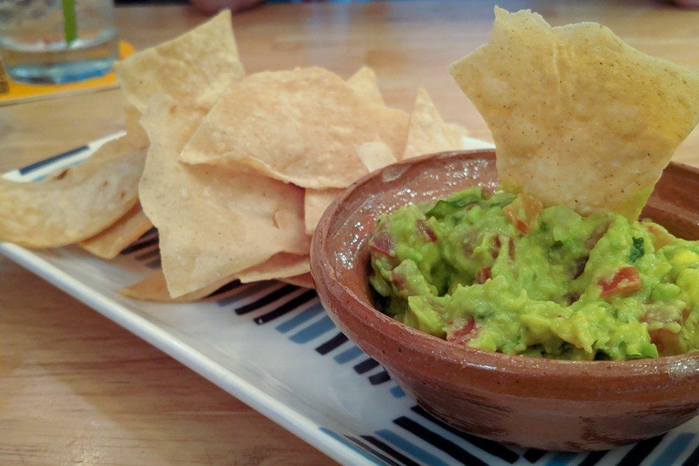 Gringo Tacos Restaurant Review, Ho Chi Minh City, Vietnam: Chips & Guacamole