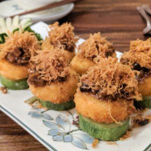 Shamballa Vegetarian Restaurant Review, Ho CHi Minh City, Vietnam: Three Layered Tofu