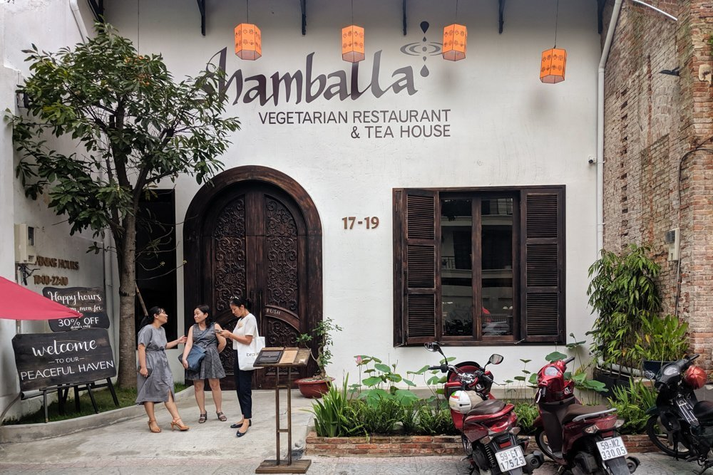 Shamballa Vegetarian Restaurant & Tea House, Ho Chi Minh, Vietnam