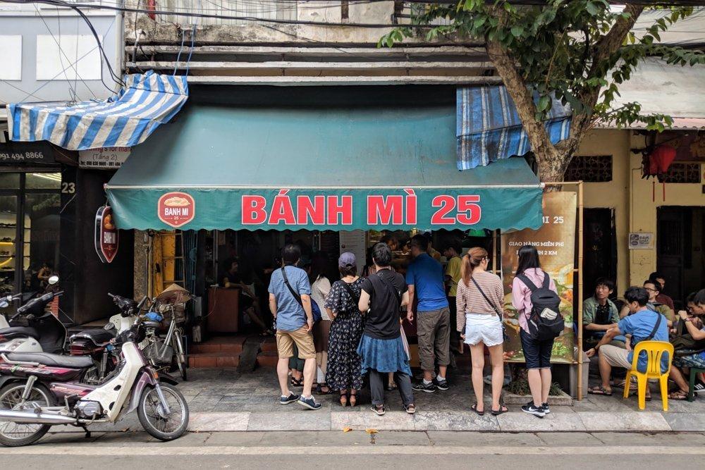 Banh Mi 25, Hanoi, Vietnam