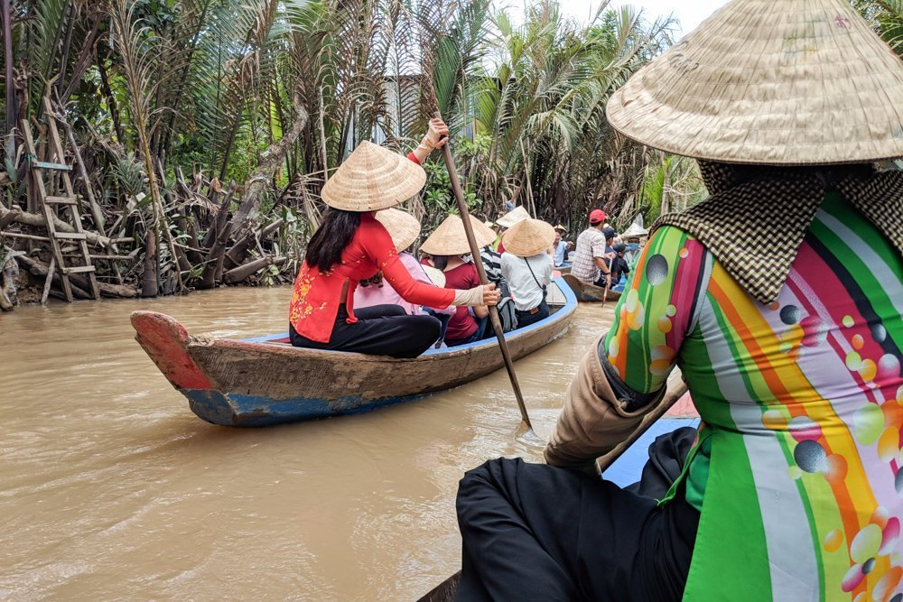 Boat Ride on a Mekong Delta Tour, Vietnam