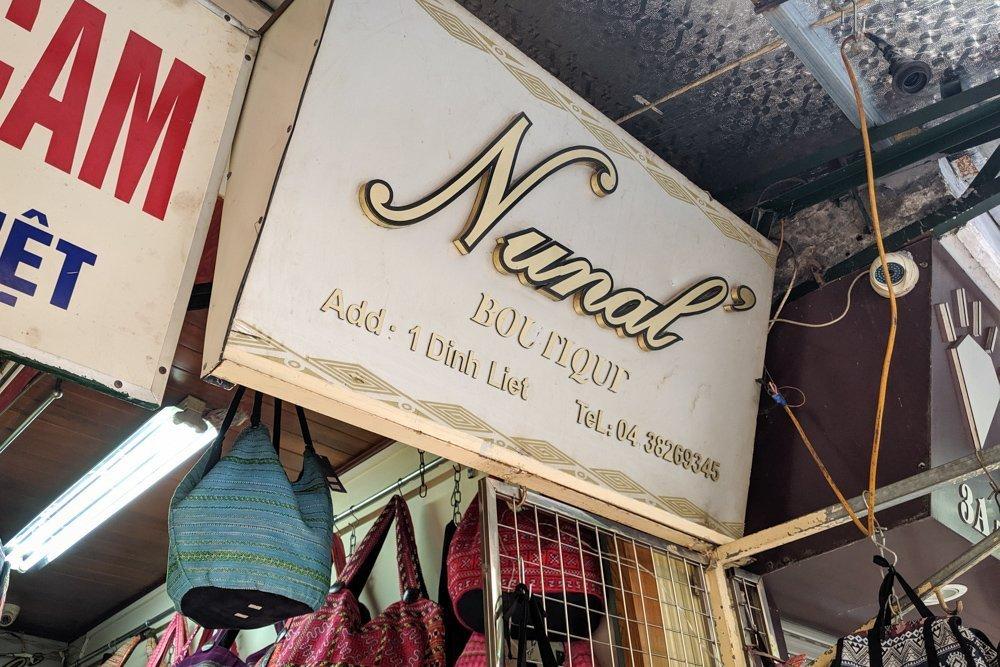 Nunal Boutique, Hanoi, Vietnam