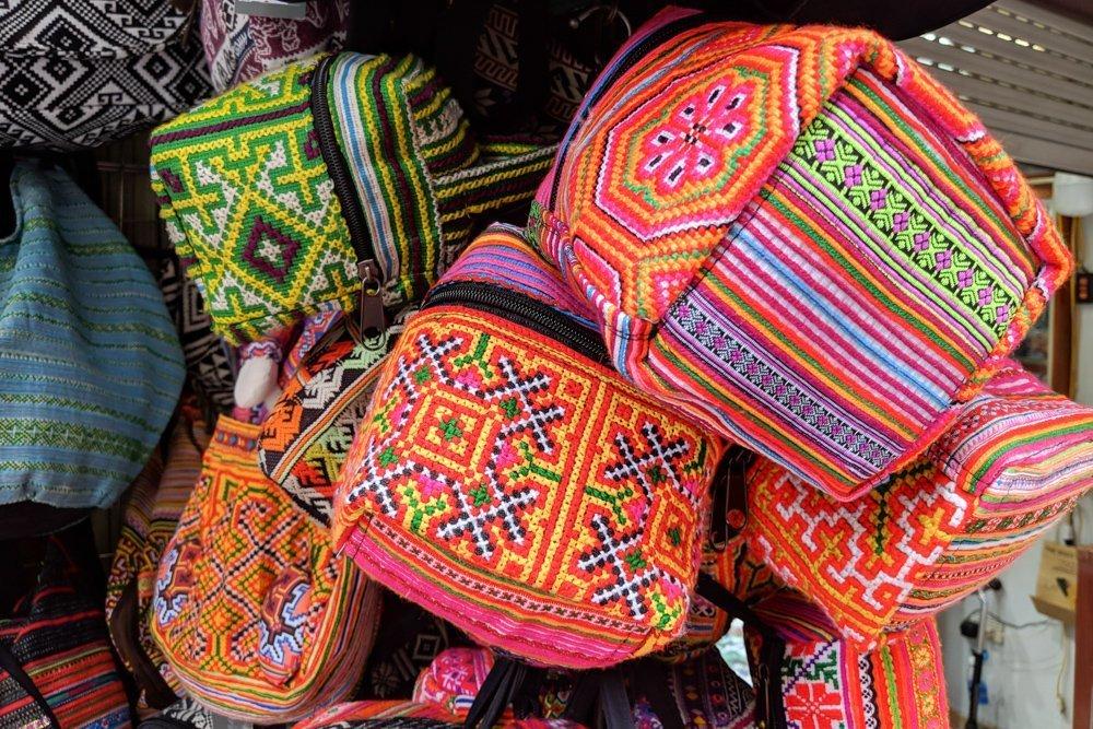 Nunal Boutique, Hanoi Vietnam: Handmade Goods from Sapa