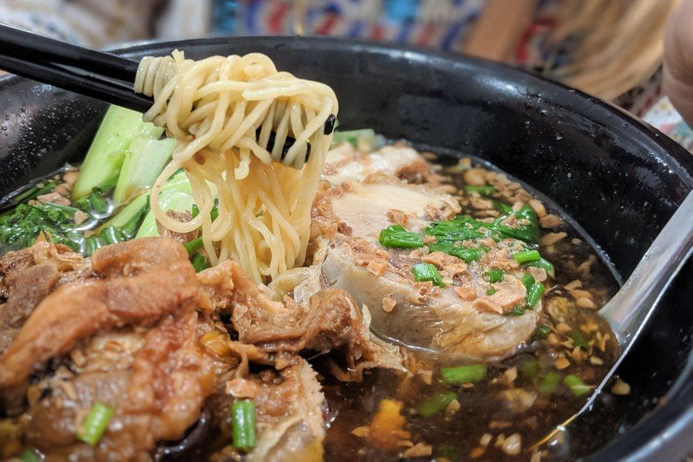 Quan Ba Cham, Ho Chi Minh, Vietnam: Chicken Noodle Soup