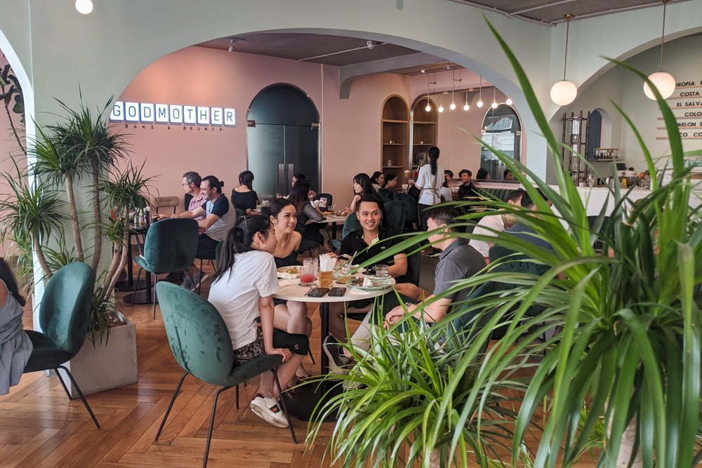 Godmother Bake & Brunch, Saigon, Vietnam
