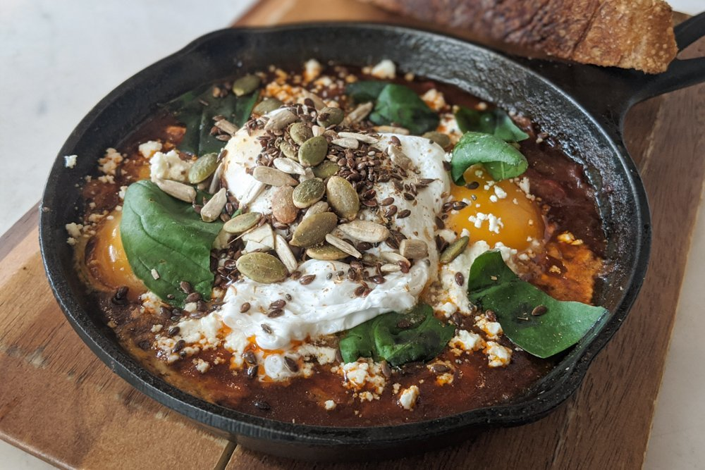 Godmother Bake & Brunch: Shakshuka - Saigon, Vietnam