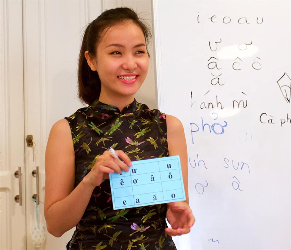 Vietnamese Class in Saigon: Vietnamese Lessons with Kim KIm