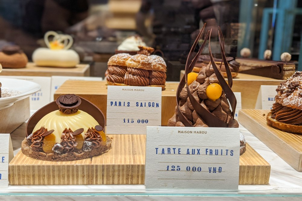 Best Chocolate Shop in Vietnam: Mason Marou Dessert Case