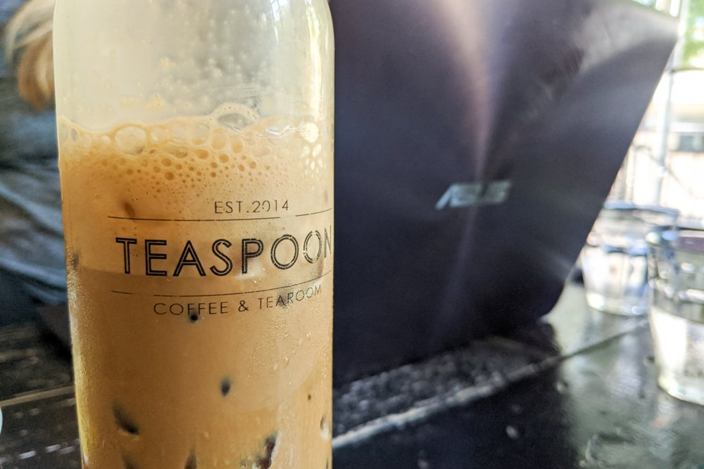 TEASPOON Coffee & Tearoom, Saigon, Vietnam: Vietnamese Iced Coffee