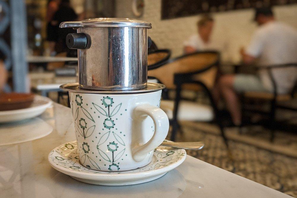 Vintage Emporium, Saigon, Vietnam: Vietnamese Coffee